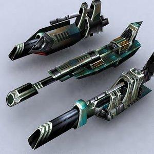 3ds max sci-fi fighters fleet