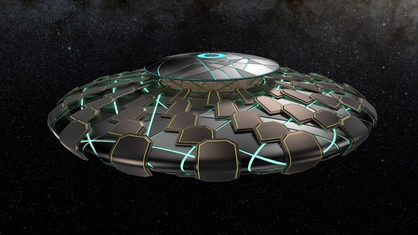 ufo awesome 3d max