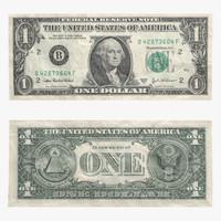 3d dollar bill model
