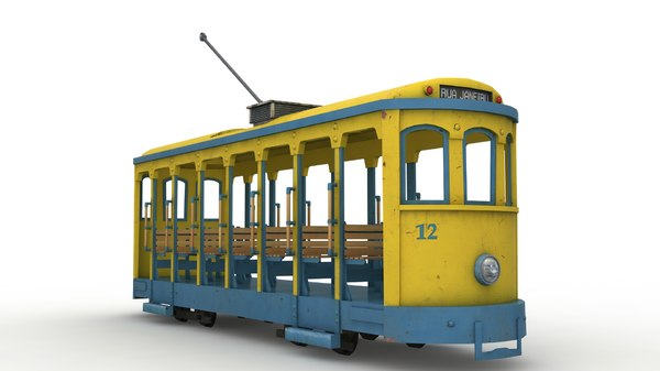 old tramway 3d model