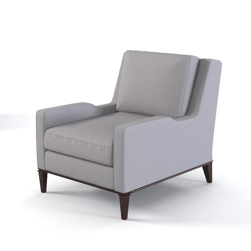 3d model of baker presidio lounge
