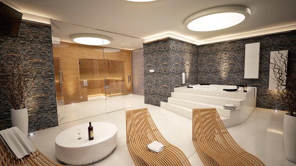 3d wellness interior model