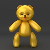 3d max teddy bear soft toy