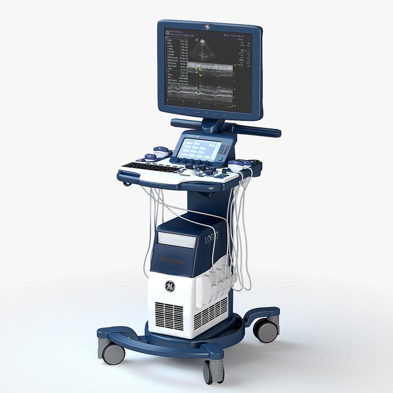 3d ultrasound ge logiq s8