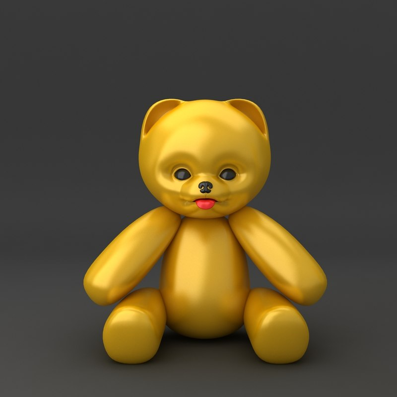 3d teddy bear soft toy