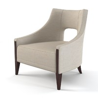Baker Piedmont Lounge Chair 6726c