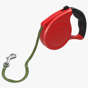 3d retractable dog leash