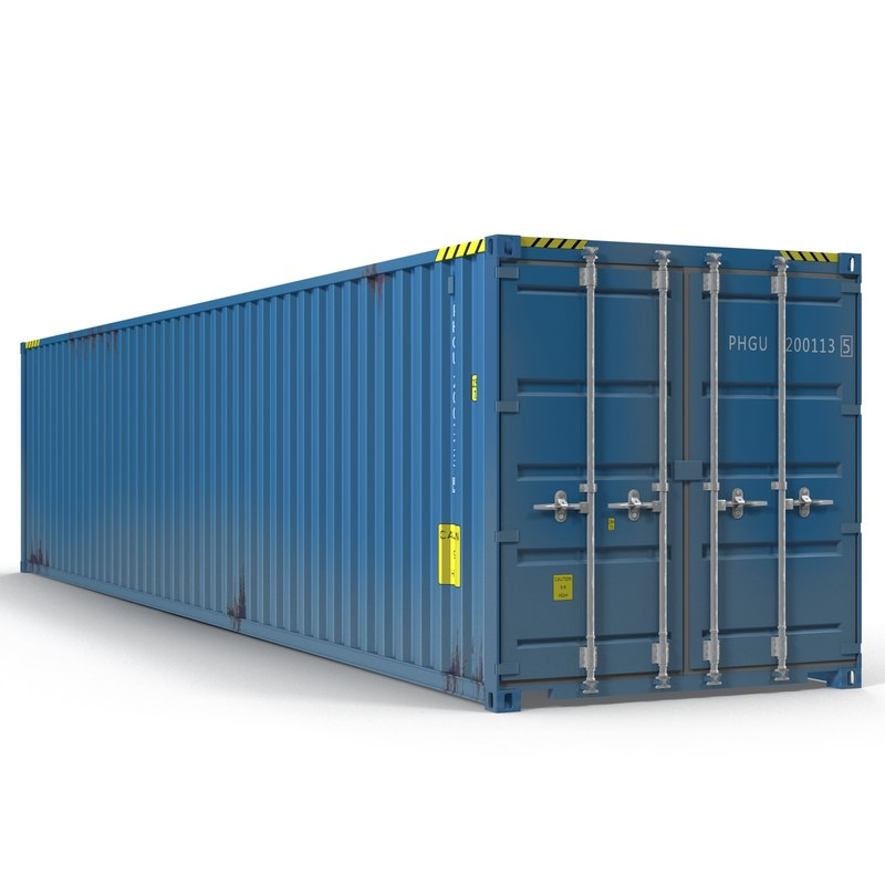 obj 40 ft iso container