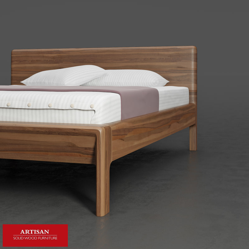 invito bed 3d obj