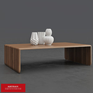 3d model of michael coffee table