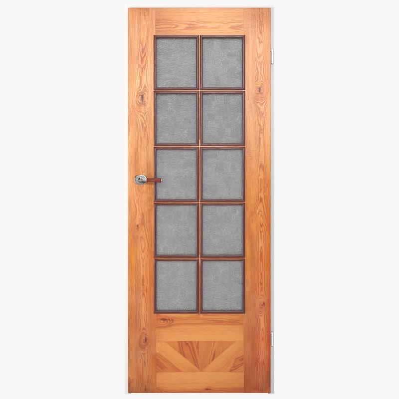 obj glass door