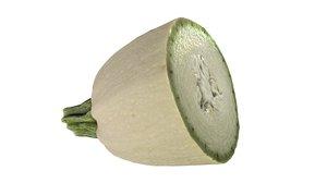 zucchini kaback 3d model