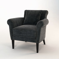 free eichholtz chair club denver 3d model