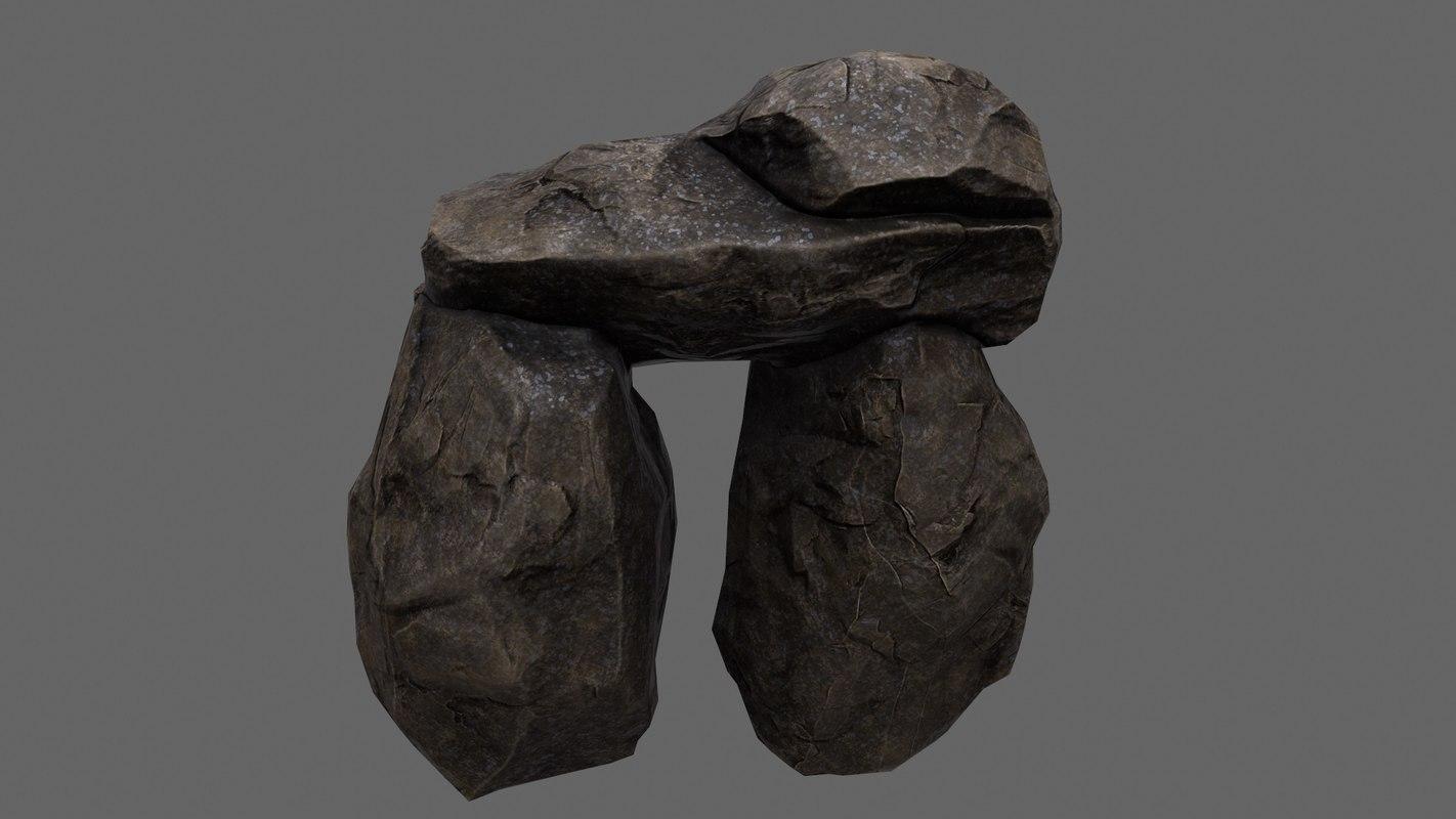 obj rock 2