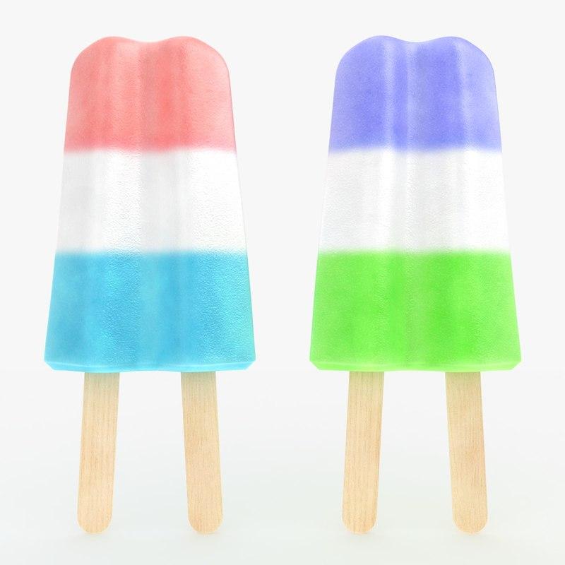 popsicle sorbet 03 2 3d 3ds