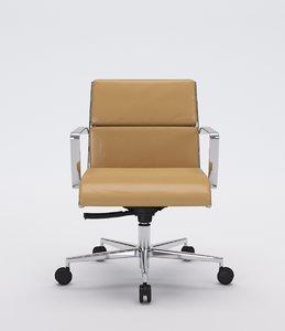 3d office chair model