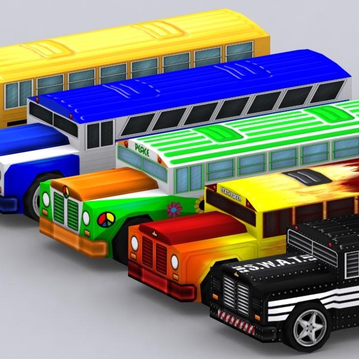 3d 0 road rush model