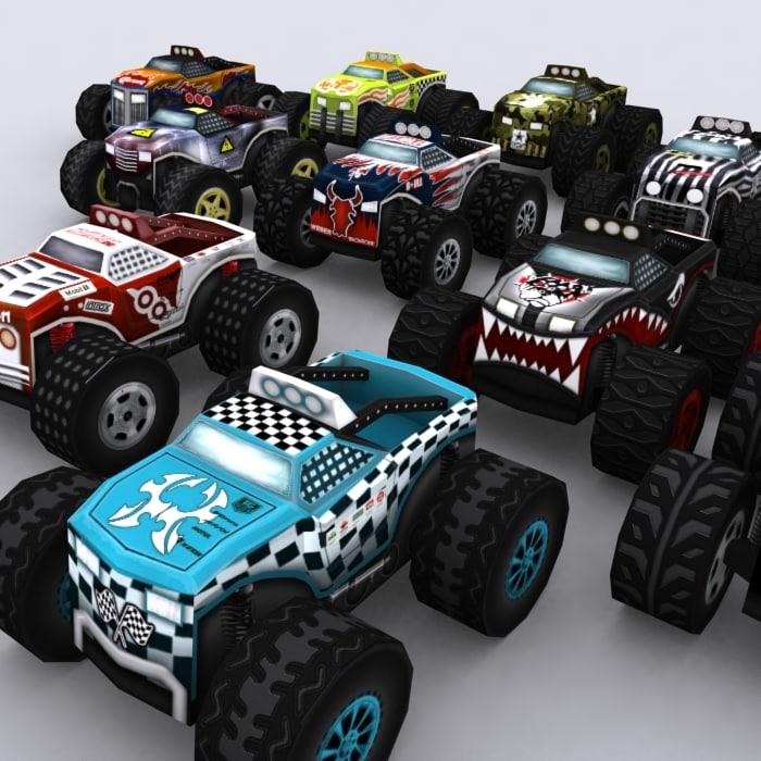 0 road rush monster trucks 3ds
