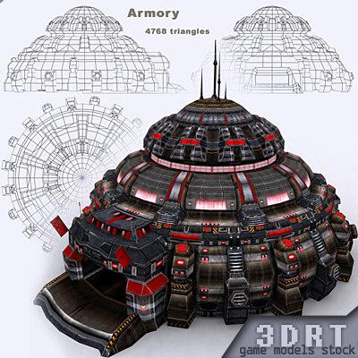 3ds max sci-fi -