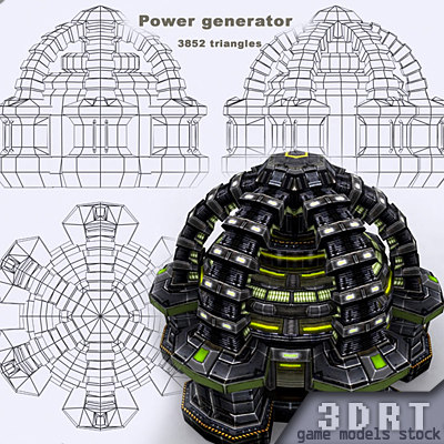sci-fi - 3d model