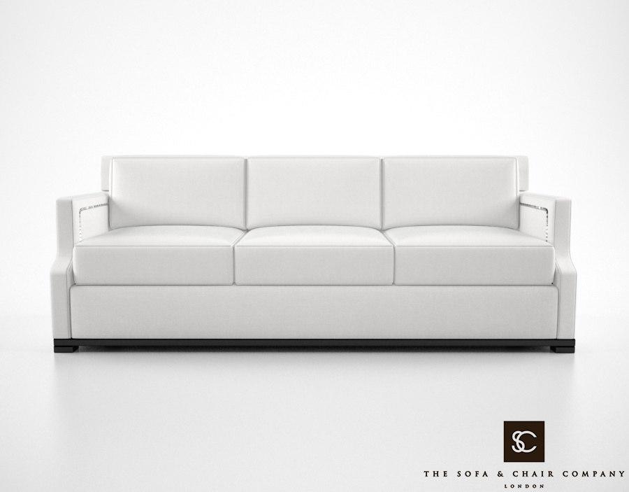 sofa chair company belvedere 3d max
