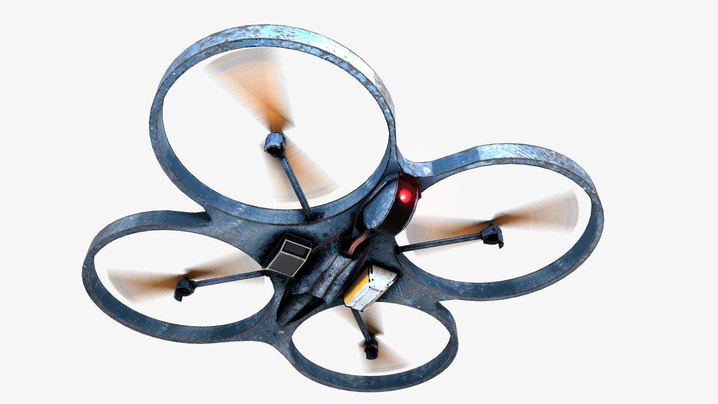 3d quadrocopter copter
