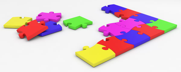 3d max jigsaw puzzle