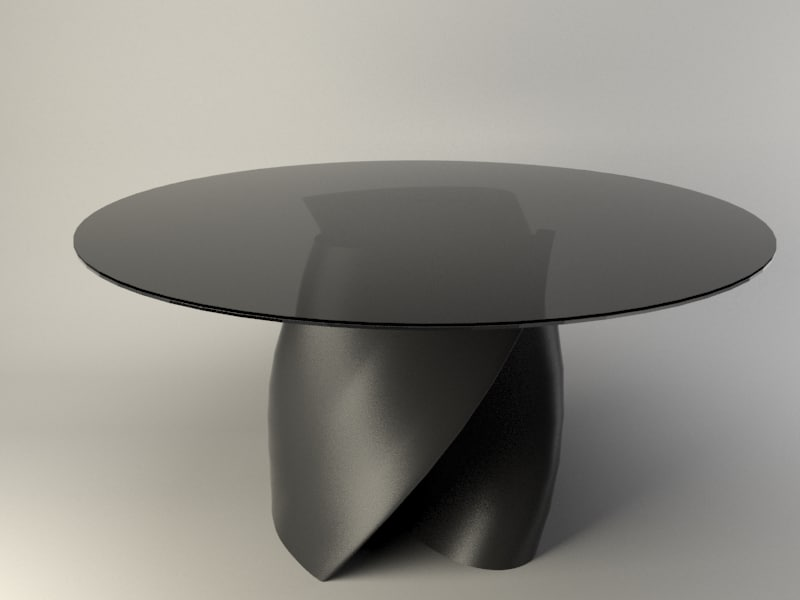3d model table design