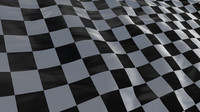 checker flag perspective cycled