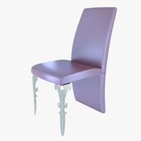 3d model of upholstered chair