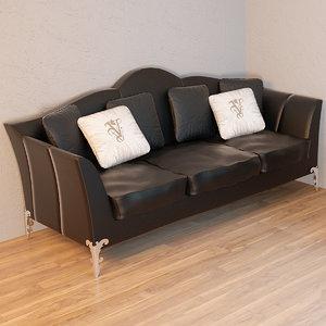 3d model sofa armchairs avalon