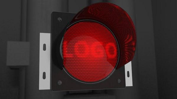 start lights 3d model
