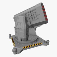 rocket launcher 3d model