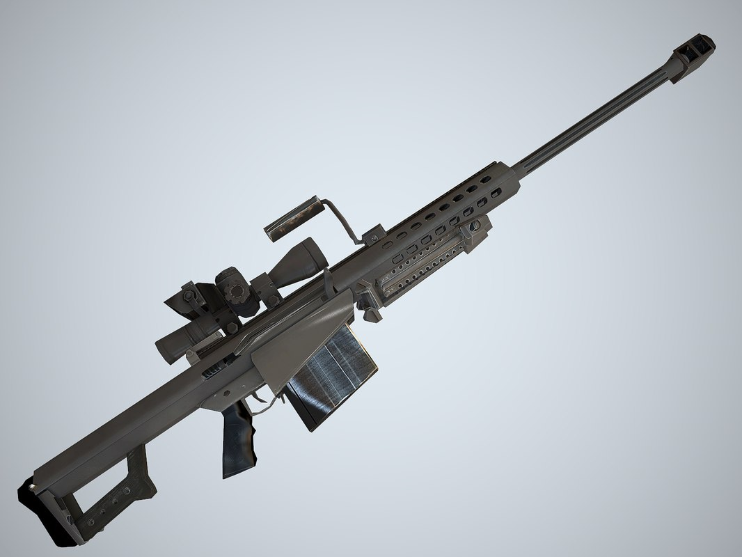 max modern heavy sniper rifle