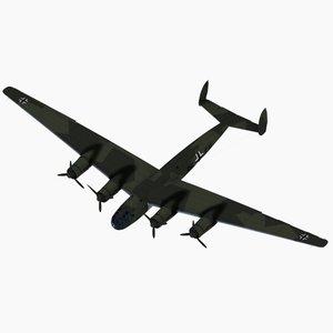 strategic bomber prototype v1 3d model