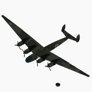 3d strategic bomber prototype v2