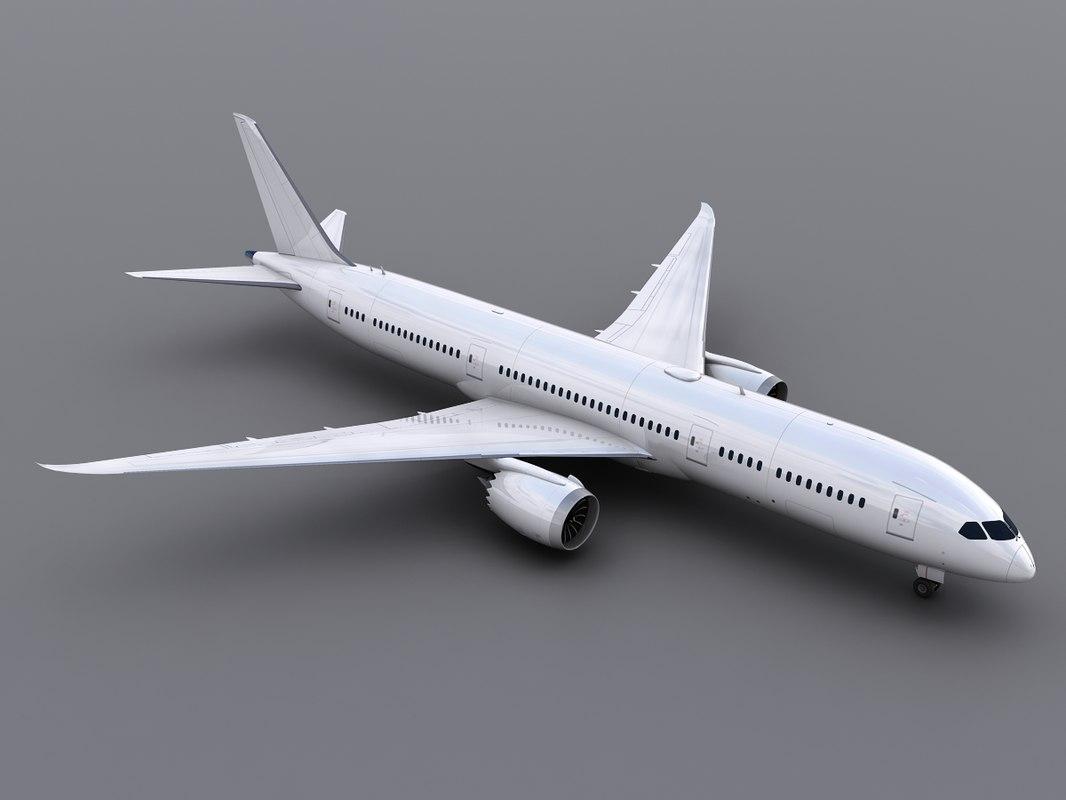 aircraft generic 3d model