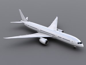 aircraft generic 3d model