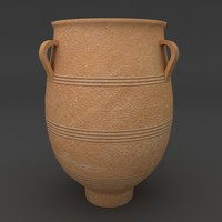 greek olive jar container 3d max