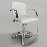 3ds hair chair - cadeira