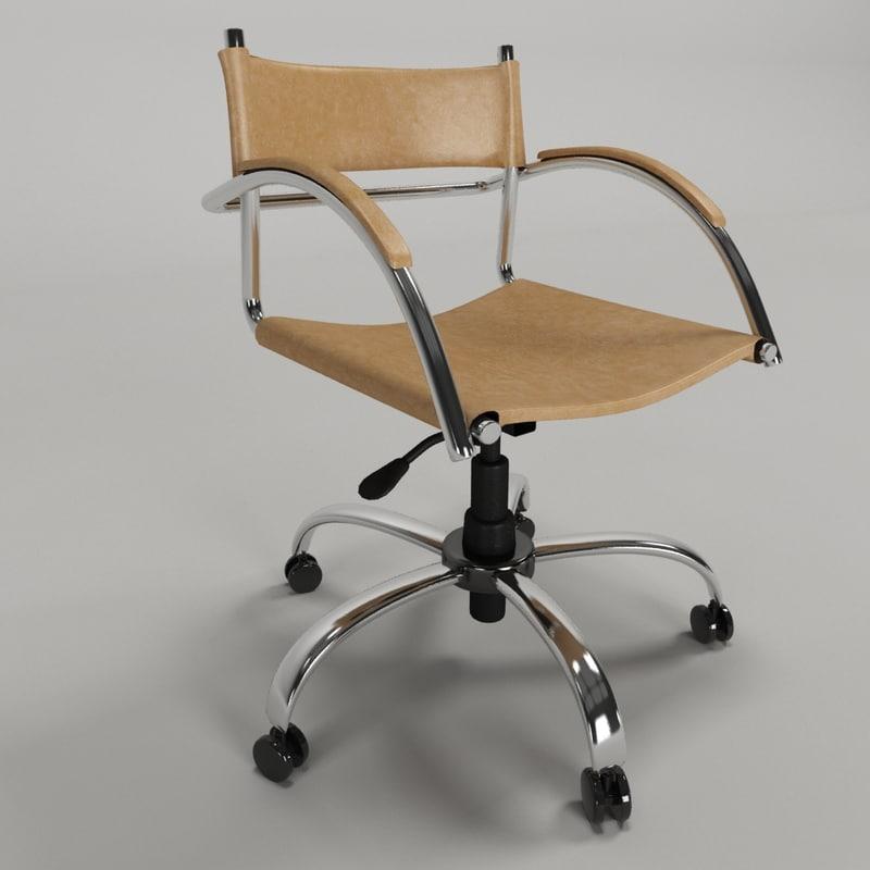 3d model cadeira - roal ideale