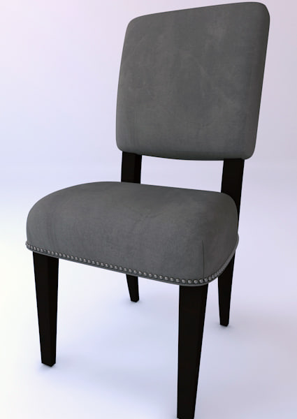 3dsmax toby dining chair
