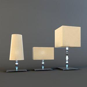 lamp dagonet 3d max