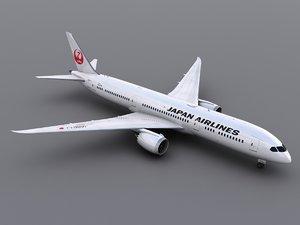 aircraft jal obj