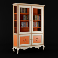 3ds max roche bobois bookcase