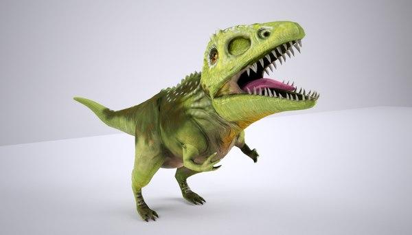 3d t gigantosaurus model
