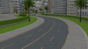circle city 3d model