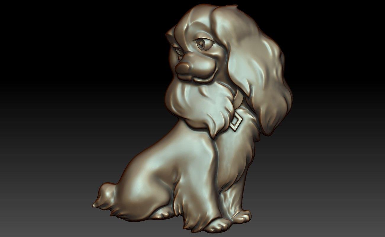 dog cartoon 3ds free