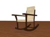 maya polly rocking chair
