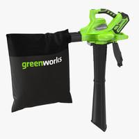Leaf Blower Vacuum DigiPro G-MAX 40V GreenWorks
